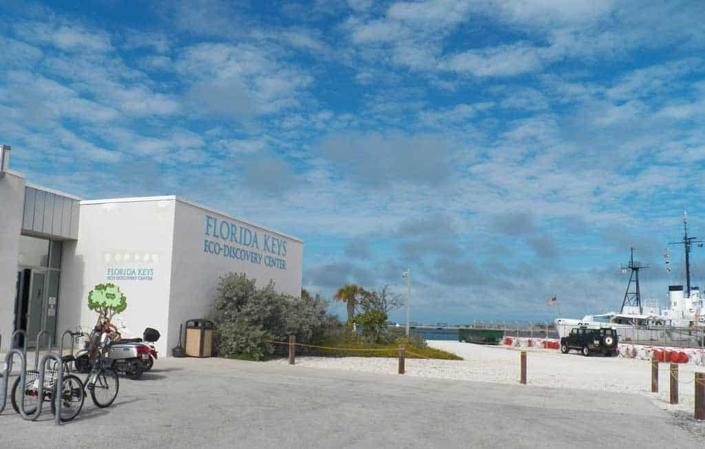 Free things to do in Key West: The Florida Keys Eco-Discovery Center in Key West is located on the waterfront near Fort Zachary Taylor. Enjoy high-quality exhibits, including a 2,500-gallon tank with a living reef.