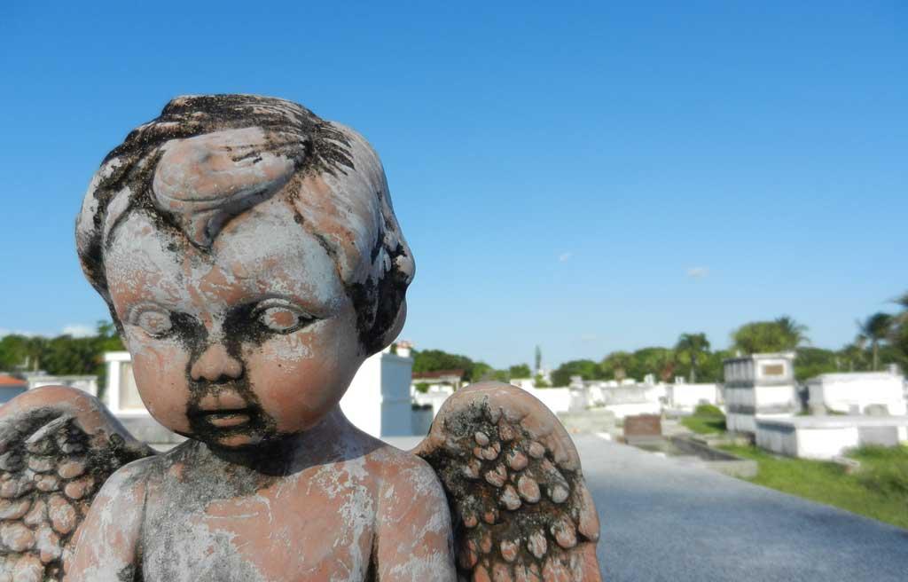 Haunted places in Florida: Key West cemetery.