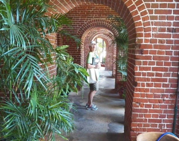 Free things to do in Key West: When you visit the West Martello Tower, home of the Key West Garden Club's Botanical Garden, you feel like you've stumbled on a lost ruined city in a jungle. (Photo: David Blasco)