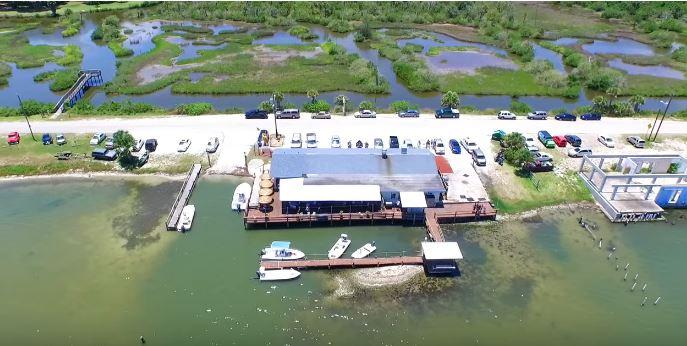Goodrich Sea Food & Oyster House in Oak Hill, Florida.