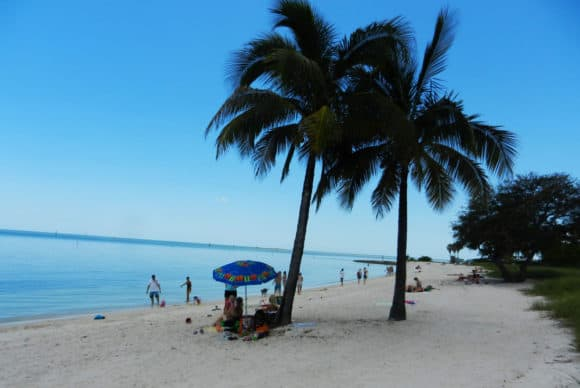 Sombrero Beach in Marathon in the Florida Keys is among the best beaches in the Floirida Keys.