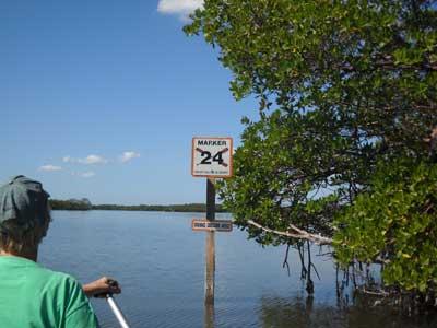 Calusa blue marker mound ke Four Florida kayak trips that aren't famous but should be