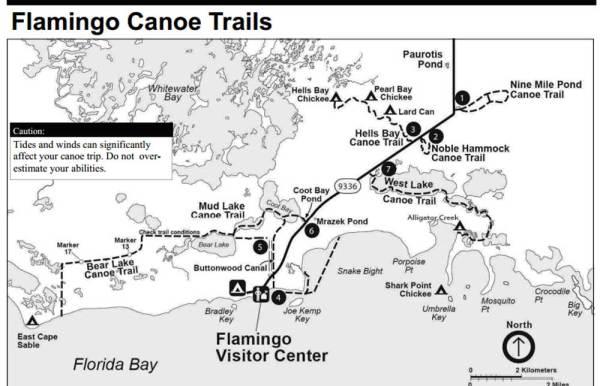 flamingo-canoe-map