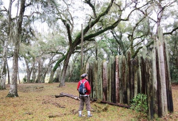 Fort Cooper State Park is an interesting place to explore along the Withlacoochee State Trail.
