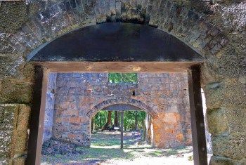 What's left of the sugar mill at Bulow Plantation Ruins Historic State Park in Flagler County.