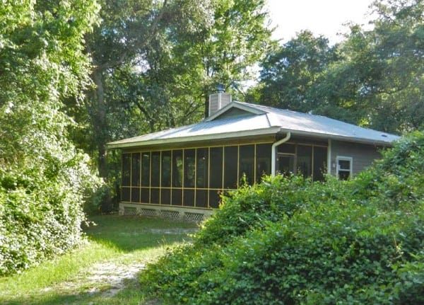 The cabins at Stephen Foster State Park are oustanding -- roomy, surrounded by forest, steps from the Suwanee River.