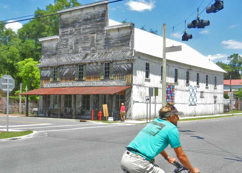 White Springs, a historic town next to Stephen Foster Folk Culture Center State Park.
