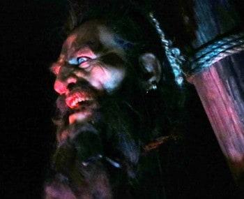 Blackbeard display at St. Augustine Pirate Museum
