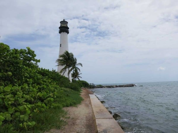 Cape Florida State Park on Key Biscayne is one of the state parks in South Florida.