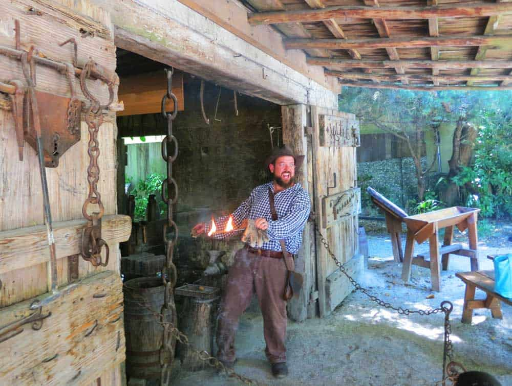 Things to do in St. Augustine: Colonial Quarter in St. Augustine employs guides who are talented actors to make their history lessons lively and amusing.