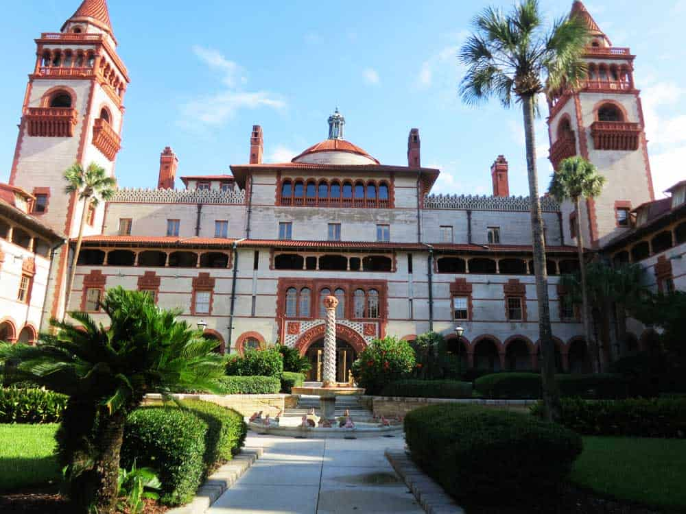 FThings to do in St. Augustine: Tour Flagler College, which was originally Henry Flagler's Ponce de Leon Hotel