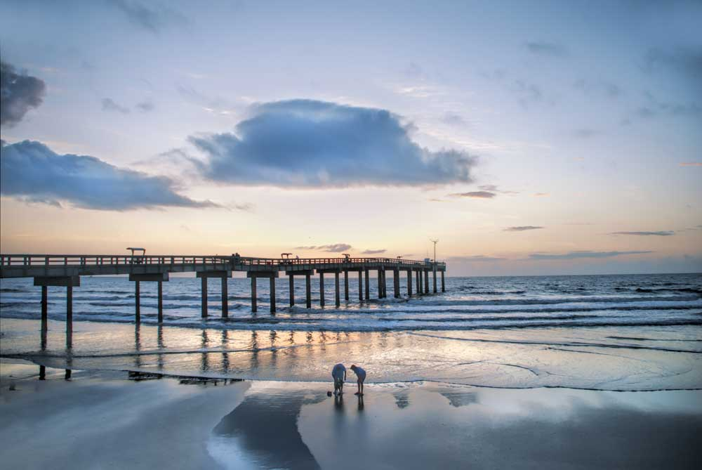 Things to do in St. Augustine: The spectacular beach, dunes and pier are just across the bridge from the Oldest City. (Courtesy FloridaHistoricCoast.com)