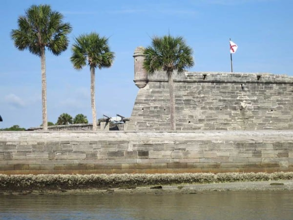 National parks in Florida: Castillo de San Marco in St. Augustine. (Photo: Bonnie Gross)