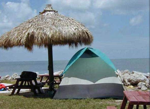 jollyRoger tent Best tent camping in the Florida Keys