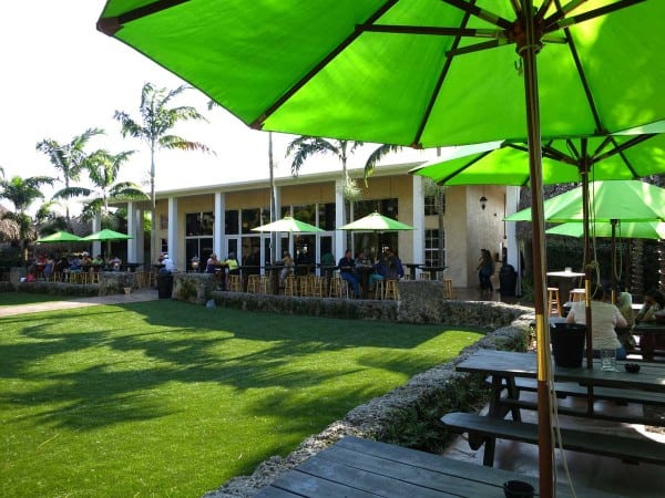 Schnebly Redland's Winery & Brewery has an inviting outdoor area for trying the wines and beers in the Redlands Florida.