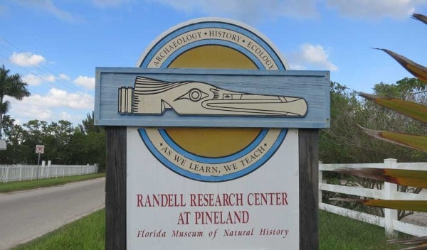 Native Americans in Florida: The Calusa Heritage Trail On Pine Island offers excellent signage and information about the Calusa Islands who had a large settlement here. (Photo: Bonnie Gross)
