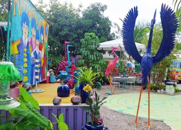 Leoma Lovegrove's Gallery and Garden in Matlacha.
