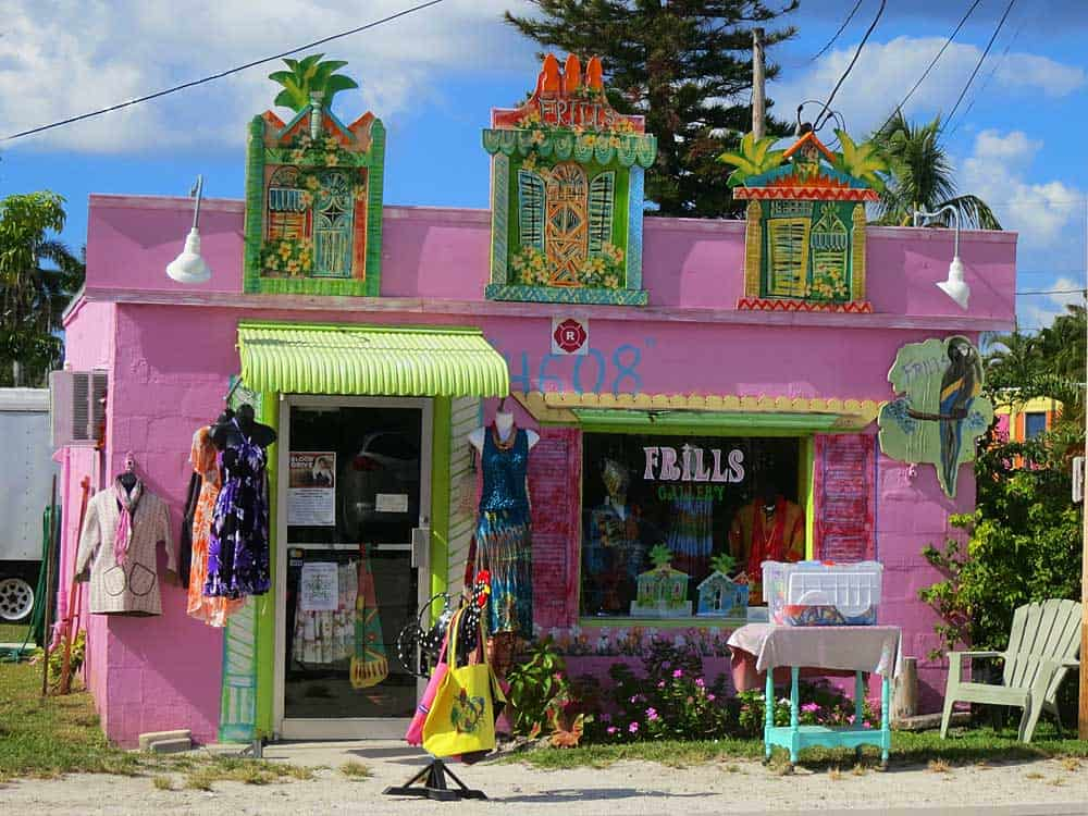 A colorful shop in Matlacha.