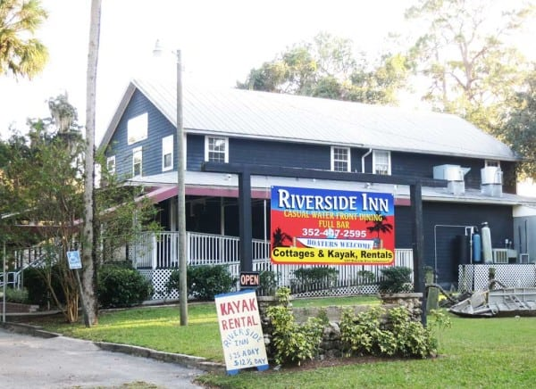The historic Riverside Inn in Yankeetown