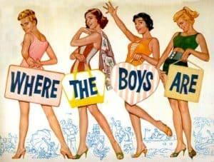 where the boys are Florida's most popular Spring Break destinations