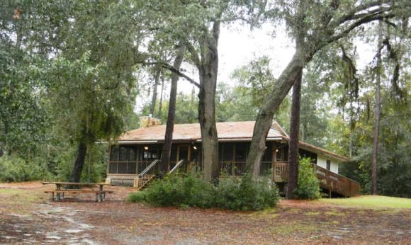 Mike Roess Gold Head Branch State Park cabins