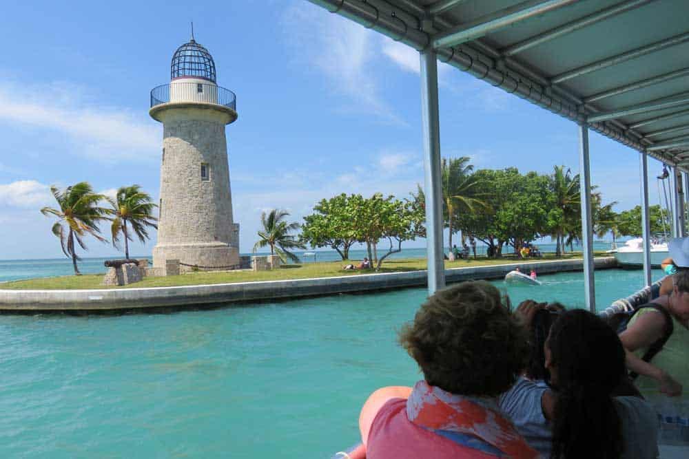 The Boca Chita lighthouse is decorative.