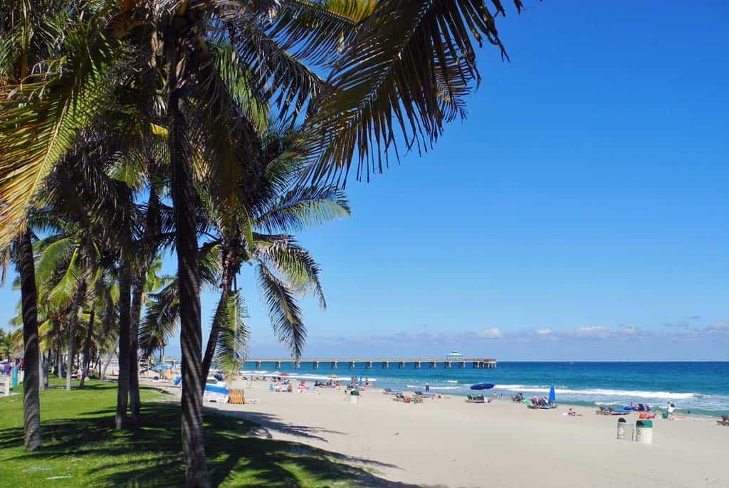db beach Scenic Deerfield Beach is charming, low-key