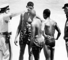 fort lauderdale beach civil rights protest