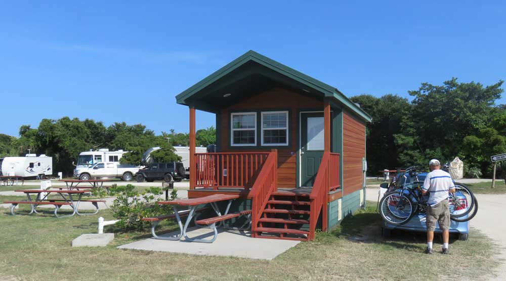 Jetty Park cabin in Cape Canaveral