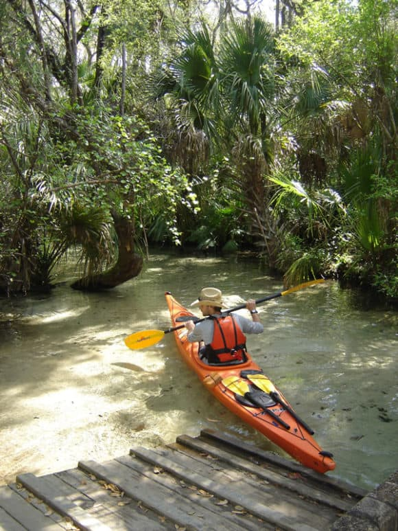 The water is so clear it looks like you're floating on air at Juniper Springs, Florida.(Photo: U.S. Forest Service.)