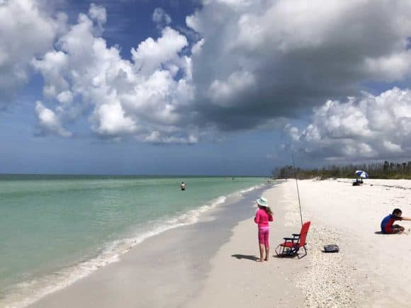 Florida's dramatic sky at Tigertail Beach in Marco Island. (Photo: Bonnie Gross)