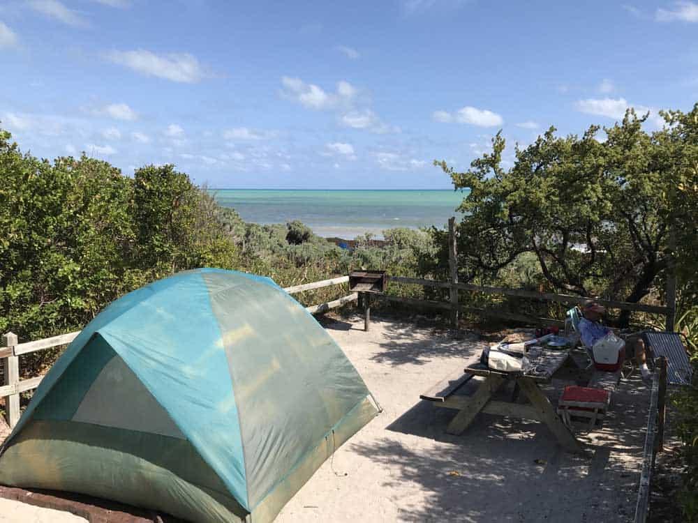 bahia honda campsite Bahia Honda State Park: Nice beach, but historic bridge is the star