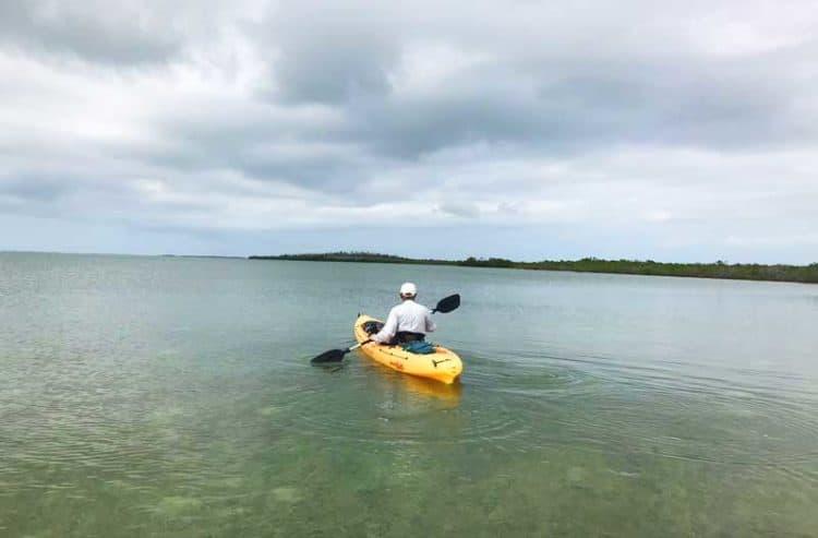 Kayaking Sugarloaf Key in the Lower Keys (Photo: Bonnie Gross)