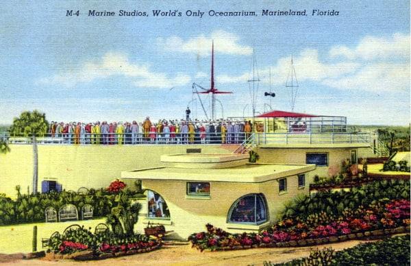 Marine Studios, world's only oceanarium - Marineland, Florida. State Archives of Florida, Florida Memory.