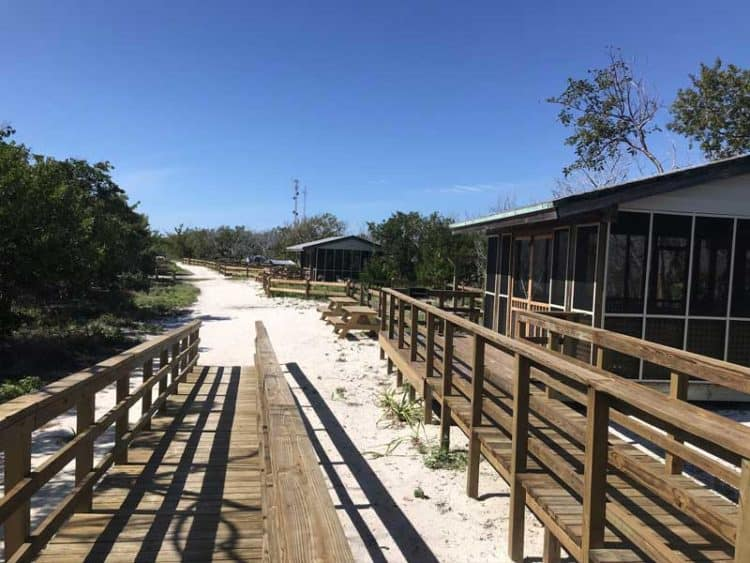Camping facilities at Long Key State Park. (Photo: Bonnie Gross)
