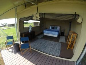Eco-Tent at Everglades National Park.