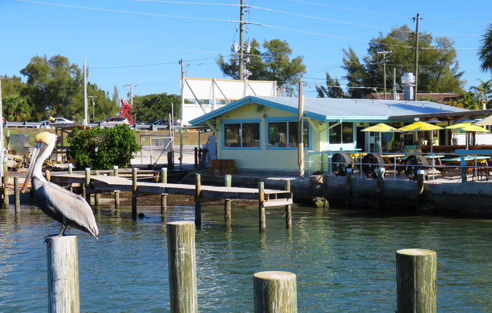 Right at the causeway that takes you from Cortez to Anna Maria Island, you'll find Tide Tables restaurant, a seafood restaurant with a mighty reputation for super-fresh fish and great views. (Photo: Bonnie Gross)