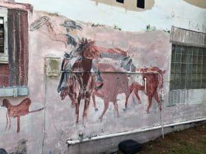 mural desert inn yeehaw junction