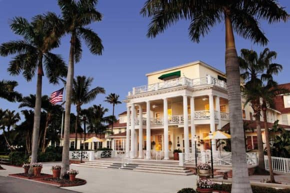 The Gasparilla Inn and Club is a historic hotel in Florida located on an island.  (Courtesy of the Gasparilla Inn)