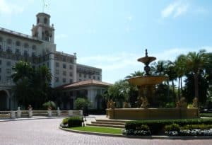 The Breakers Hotel in Palm Beach.