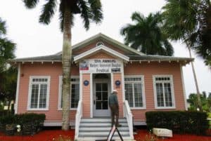 The well-done Museum of the Everglades is free. It's located in what was a laundry building. (Photo: Bonnie Gross)