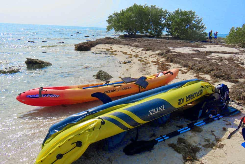 A popular kayak outing from Bahia Honda State Park is to Little Bahia Honda Island. (Photo: Bonnie Gross)