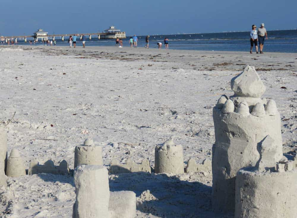 Building sand castles is understandably the one of thebest things to do in Fort Myers Beach.