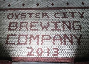 The floor at the local craft brewery, a popular gathering place in Apalachicola. (Photo: David Blasco)