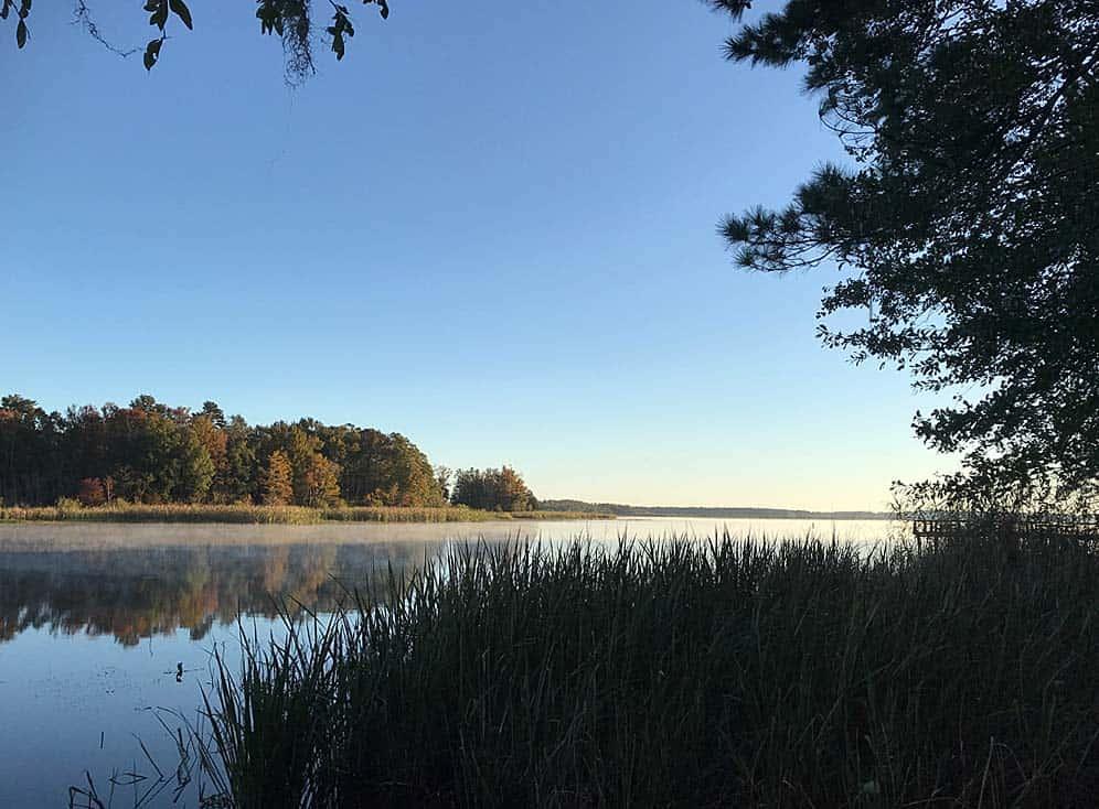 Three Rivers State Park. Lake Seminole.