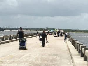 talbot pier bridge The Talbot Islands: Paradise on the edge
