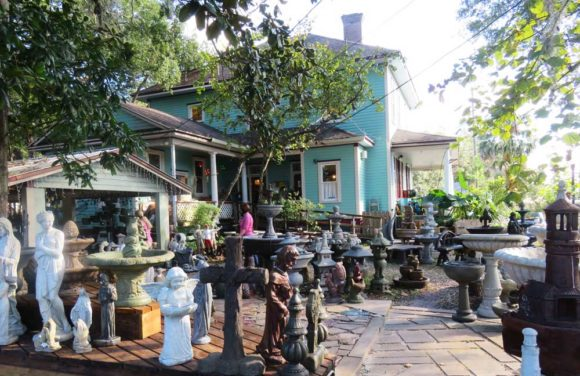 Things to do in Dunnellon Fl: You could spend an hour just browsing all the stuff at the Grumbles Antique and Garden Shop in Dunnellon. (Photo: David Blasco)