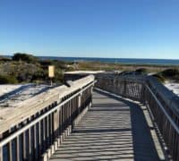 Henderson Beach State Park boardwalk