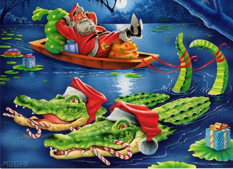 gator santa 12 Gifts for Florida Travel