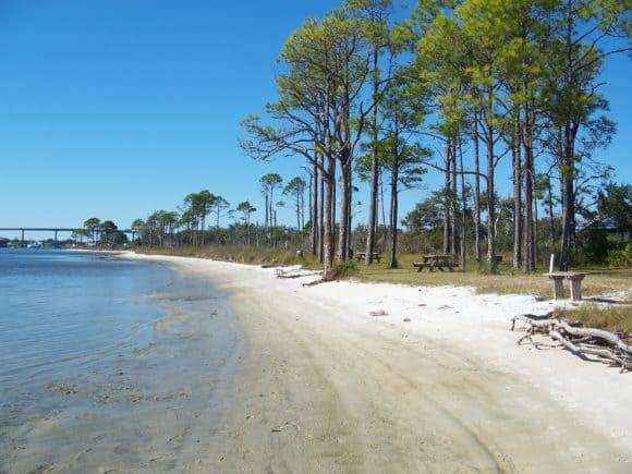 Pensacola FL Big Lagoon Pensacola in the winter: Florida at its best